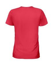 Coffee And Pet My Rabbit T-Shirt Ladies T-Shirt back
