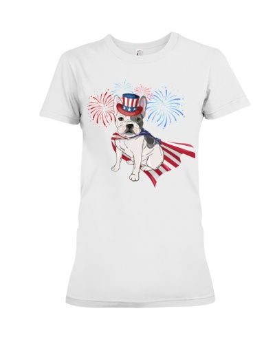 Frenchie America-Cloak Patriot-Hat 4th 7