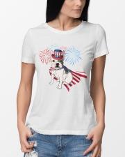Frenchie America-Cloak Patriot-Hat 4th 7  Premium Fit Ladies Tee lifestyle-women-crewneck-front-10