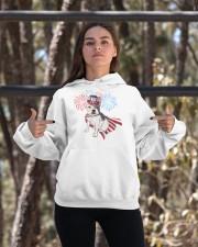 Frenchie America-Cloak Patriot-Hat 4th 7  Hooded Sweatshirt apparel-hooded-sweatshirt-lifestyle-05