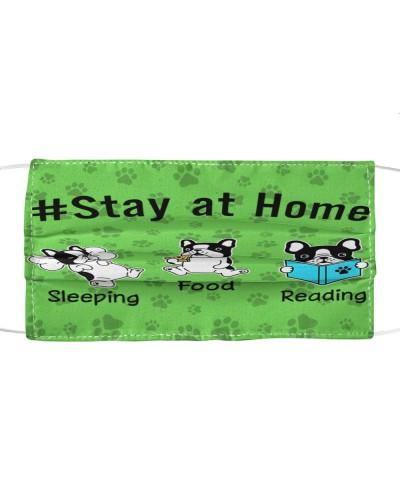 Sleeping Food Reading Face Mask