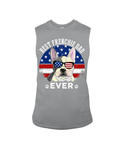Best America Frenchie Dad Ever  T Shirt