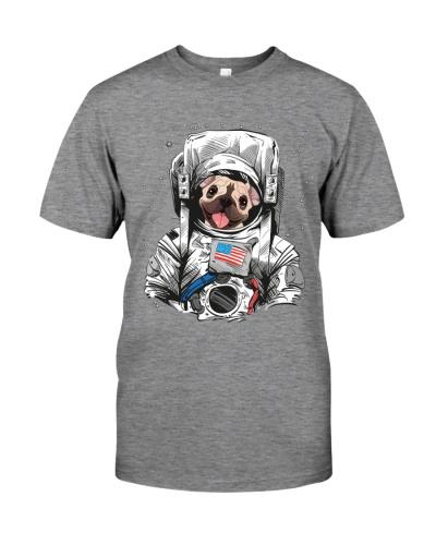 Frenchie Astronaut Suit