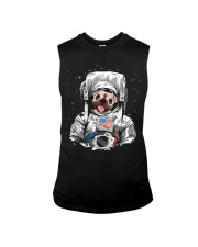Frenchie Astronaut Suit Sleeveless Tee thumbnail