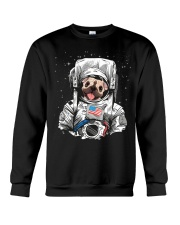 Frenchie Astronaut Suit Crewneck Sweatshirt thumbnail