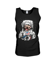 Frenchie Astronaut Suit Unisex Tank thumbnail