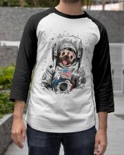 Frenchie Astronaut Suit Baseball Tee apparel-baseball-tee-lifestyle06
