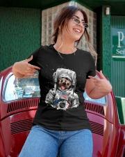 Frenchie Astronaut Suit Ladies T-Shirt apparel-ladies-t-shirt-lifestyle-01