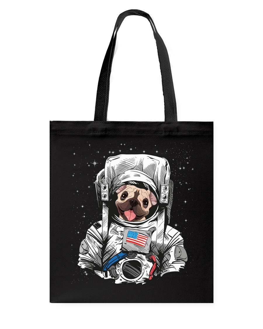 Frenchie Astronaut Suit Tote Bag