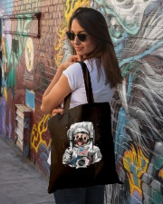 Frenchie Astronaut Suit Tote Bag lifestyle-totebag-front-1
