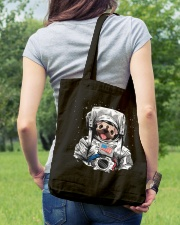 Frenchie Astronaut Suit Tote Bag lifestyle-totebag-front-5
