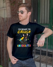 French Bulldog Crush Kindergarten T Shirt Premium Fit Mens Tee lifestyle-mens-crewneck-front-2