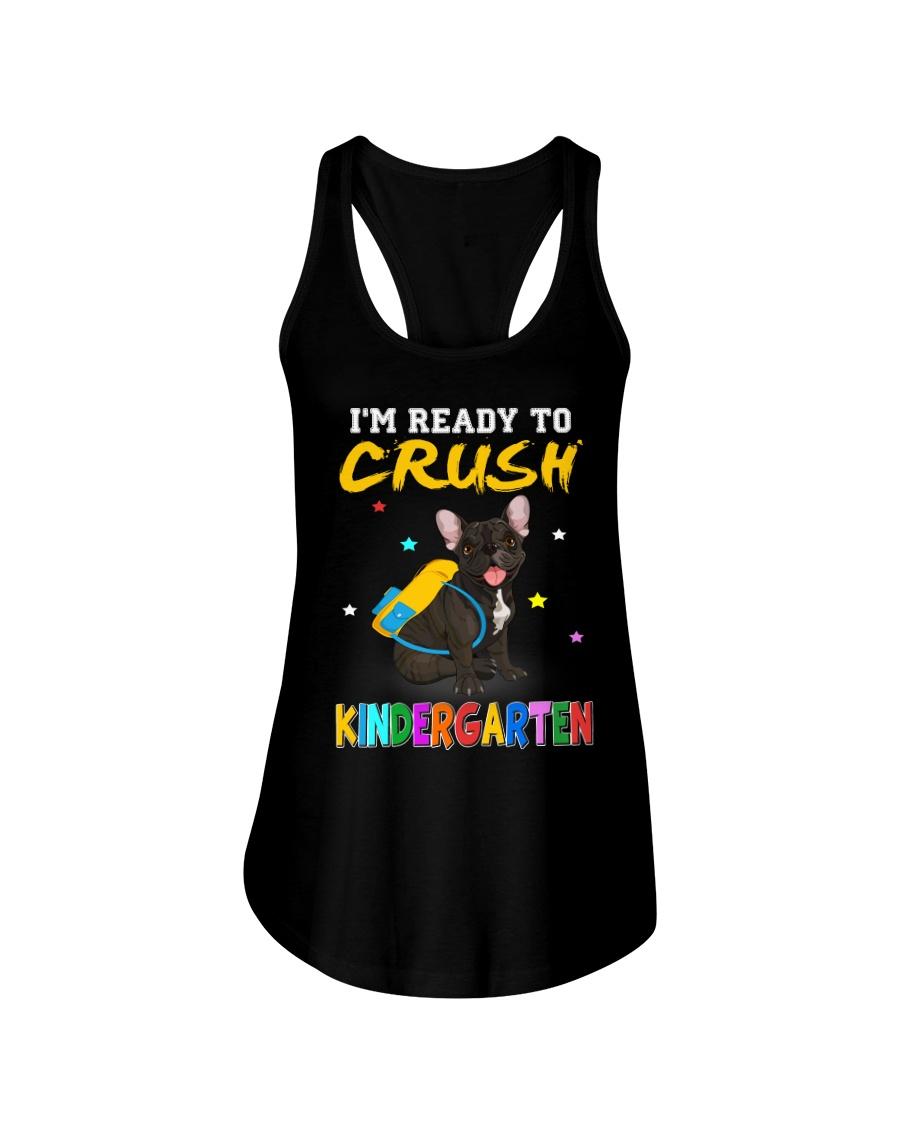 French Bulldog Crush Kindergarten T Shirt Ladies Flowy Tank