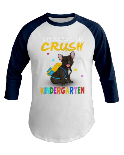 French Bulldog Crush Kindergarten T Shirt