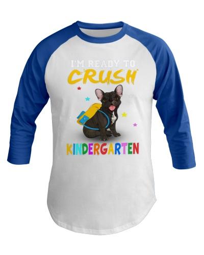 French Bulldog Crush Kindergarten T Shirt