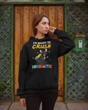 French Bulldog Crush Kindergarten T Shirt Hooded Sweatshirt apparel-hooded-sweatshirt-lifestyle-02