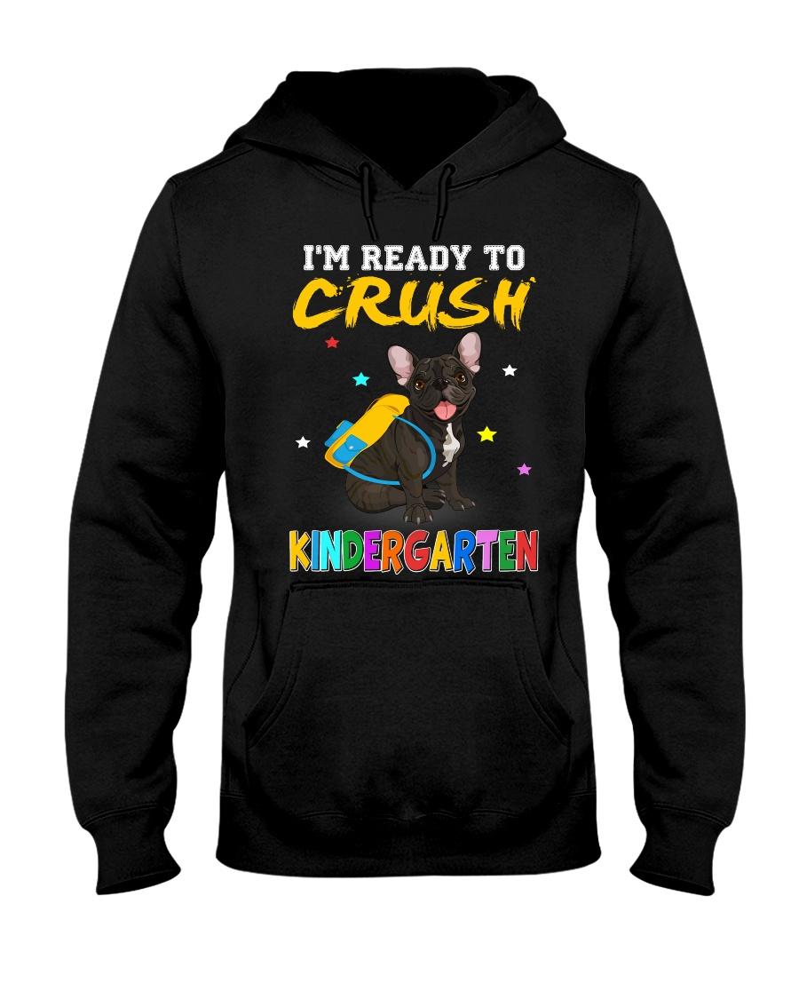French Bulldog Crush Kindergarten T Shirt Hooded Sweatshirt