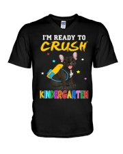 French Bulldog Crush Kindergarten T Shirt V-Neck T-Shirt thumbnail
