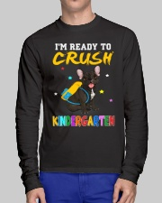 French Bulldog Crush Kindergarten T Shirt Long Sleeve Tee lifestyle-unisex-longsleeve-front-1