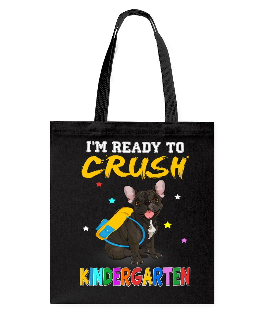 French Bulldog Crush Kindergarten T Shirt Tote Bag