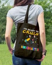 French Bulldog Crush Kindergarten T Shirt Tote Bag lifestyle-totebag-front-5
