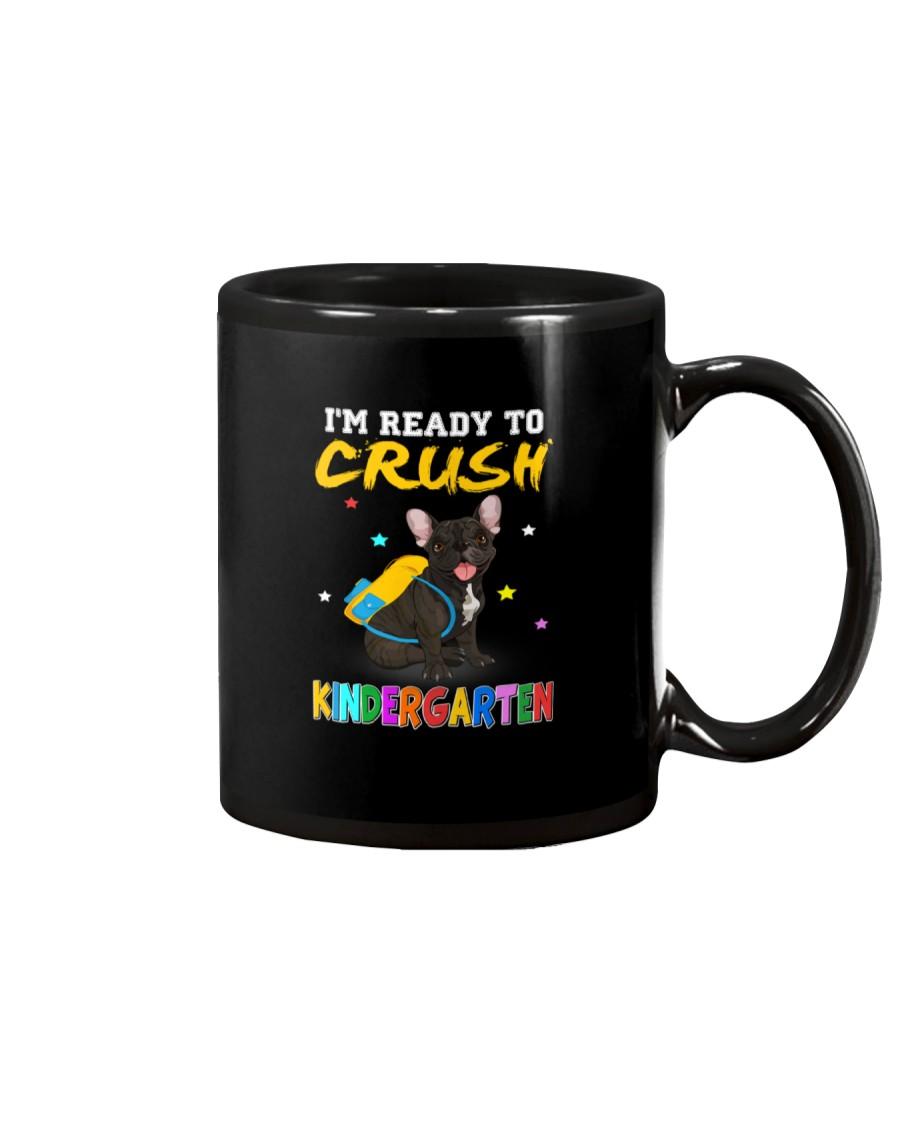 French Bulldog Crush Kindergarten T Shirt Mug
