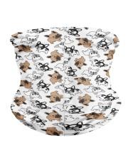 Frenchie Dog Bandana Neck Gaiter - 3 Pack back