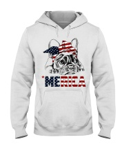 Frenchie Dog USA Flag Headband Gift Hooded Sweatshirt thumbnail