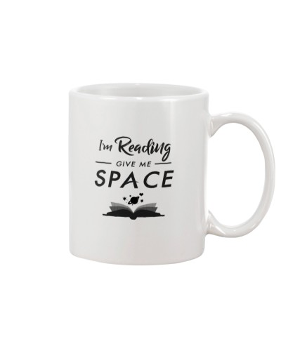 I'm Reading - Give Me Space mug