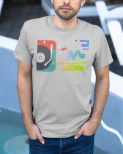 Techno Rave Graphic TShirt for Festivals Raves   Classic T-Shirt apparel-classic-tshirt-lifestyle-front-45