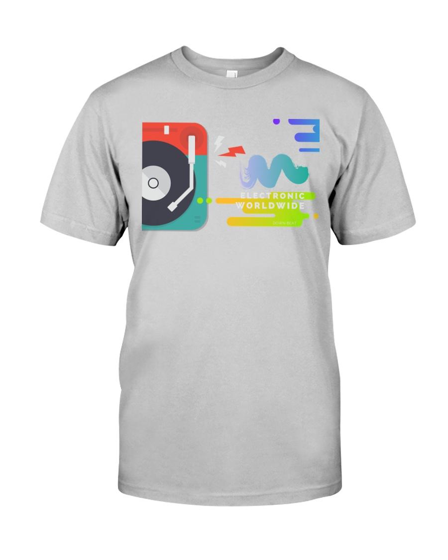Techno Rave Graphic TShirt for Festivals Raves   Classic T-Shirt