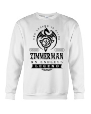 Life Begins In ZIMMERMAN Crewneck Sweatshirt thumbnail