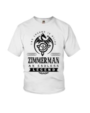 Life Begins In ZIMMERMAN Youth T-Shirt thumbnail