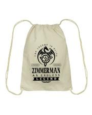 Life Begins In ZIMMERMAN Drawstring Bag thumbnail