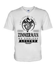 Life Begins In ZIMMERMAN V-Neck T-Shirt thumbnail
