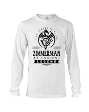 Life Begins In ZIMMERMAN Long Sleeve Tee thumbnail