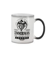 Life Begins In ZIMMERMAN Color Changing Mug thumbnail
