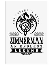Life Begins In ZIMMERMAN 11x17 Poster thumbnail