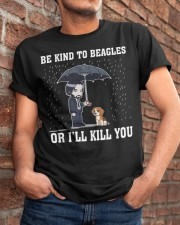 Kind To Beagles Classic T-Shirt apparel-classic-tshirt-lifestyle-26