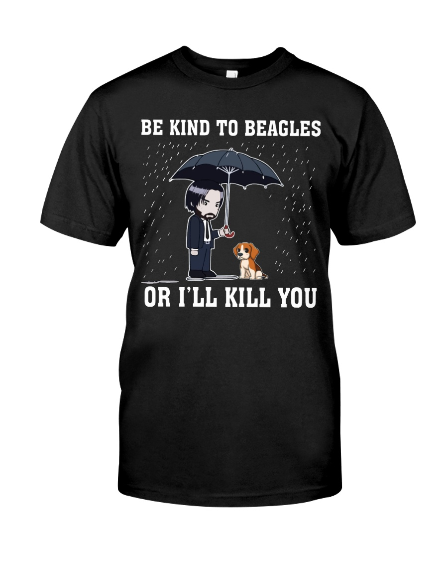 Kind To Beagles Classic T-Shirt