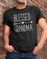 Blessed Grandma Classic T-Shirt apparel-classic-tshirt-lifestyle-26