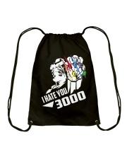I HATE YOU 3000 TSHIRT Drawstring Bag thumbnail