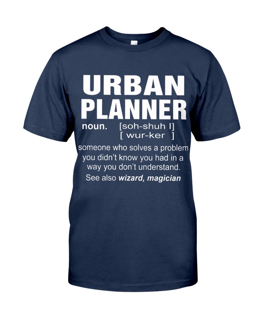 HOODIE URBAN PLANNER Classic T-Shirt
