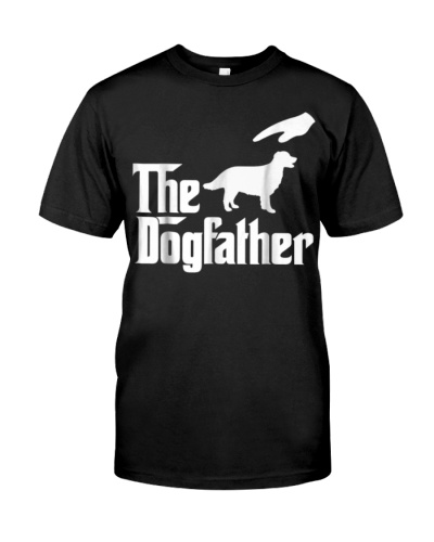 The Dogfather Golden Retriever Tshirt