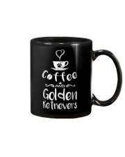 Coffee And Golden Retrievers Shirt Gift Mug thumbnail