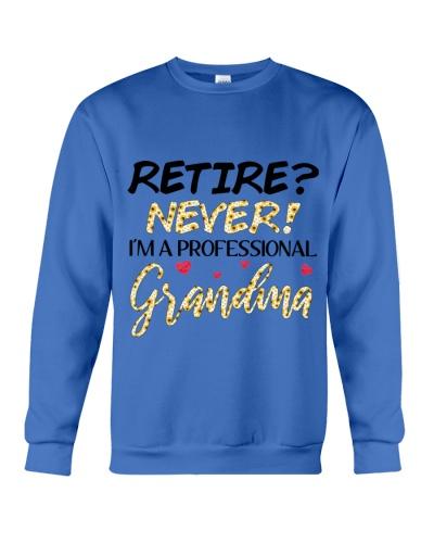 RETIRE - NEVER - I'M A PROFESSIONAL GRANDMA