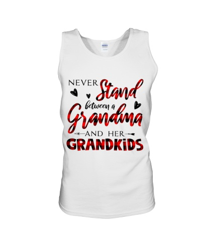 NEVER STAND BETWEEN A GRANDMA AND HER GRANDKIDS