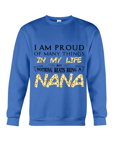 I AM PROUD OF MANY THINGS IN MY LIFE
