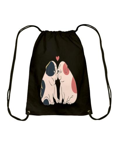 English Bulldog Kisses T Shirt