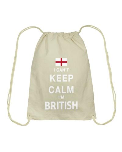 I Cant Keep Calm Im British T Shirt